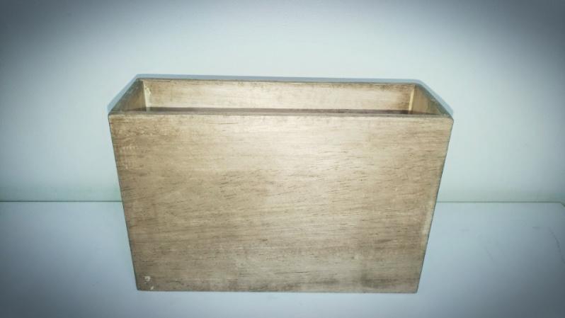 木箱の製作(小物)ファルカタ材&アンティークワックス(ウォールナット) -4-