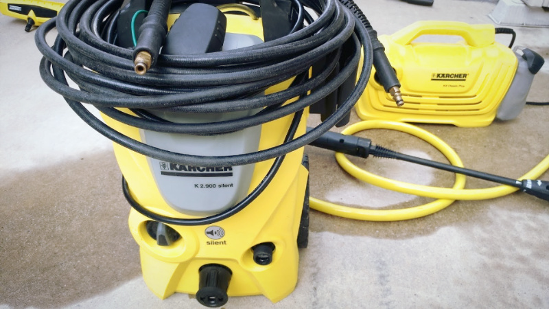 高圧洗浄機【ケルヒャー K2 クラシック プラス】のトリガーガンを修理する -4-