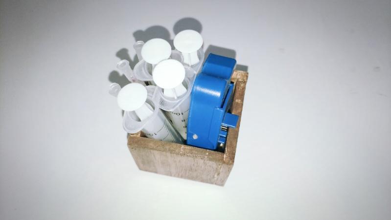 【木箱の製作(小物)】ファルカタ材&アンティークワックス(ウォールナット)2 -5-