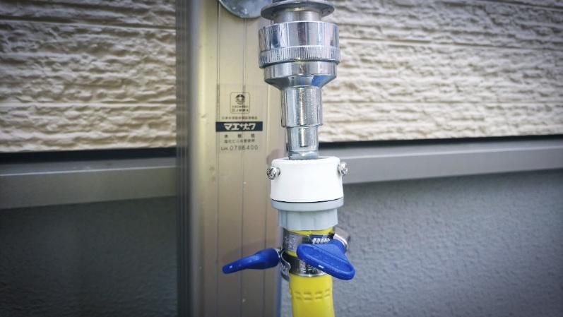 高圧洗浄機【ケルヒャー K2 クラシック プラス】&ホース取り付け -4-
