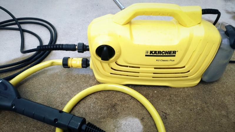 高圧洗浄機【ケルヒャー K2 クラシック プラス】のトリガーガンを修理する -1-