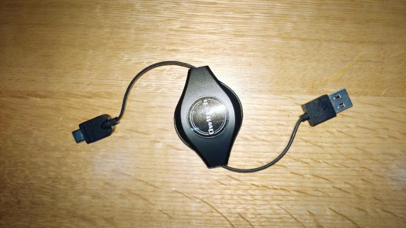 任天堂Switchの充電ケーブル交換 owltech USB Type-C 巻き取り式 -2-