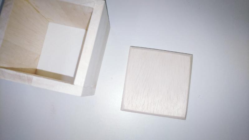 【木箱の製作(小物)】ファルカタ材&アンティークワックス(ウォールナット)2 -2-