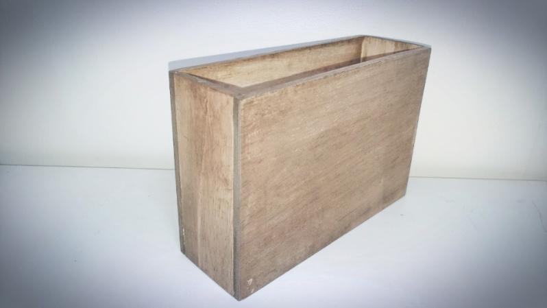 木箱の製作(小物)ファルカタ材&アンティークワックス(ウォールナット) -5-