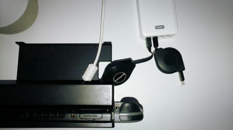 任天堂Switchの充電ケーブル交換 owltech USB Type-C 巻き取り式 -4-