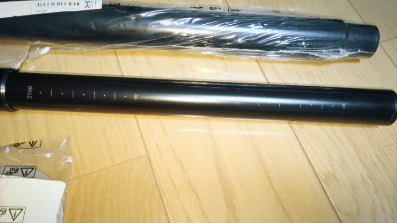 イケアの伸縮式テーブル脚「OLOV」 -4-