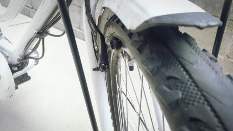 hydee2 自転車 V字ブレーキ シューの交換 -8-