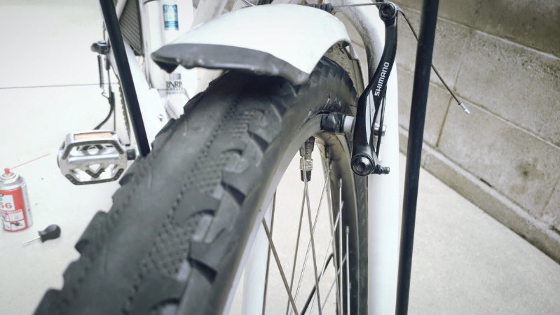 hydee2 自転車 V字ブレーキ シューの交換 -7-
