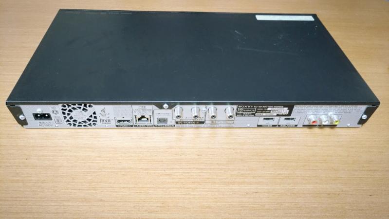 ソニー ブルーレイディスクレコーダー BDZ-EW500のHDDが故障 -3-