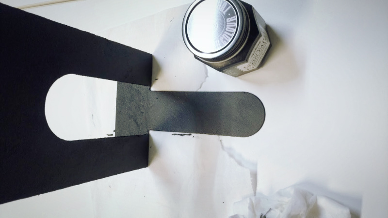 アイアンペイント (ターナー色彩株式会社)ブラック 塗装  -6-