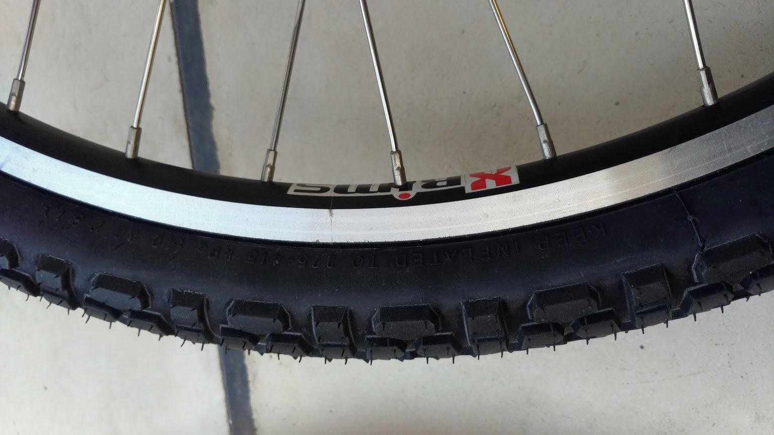 ブリヂストン hydee2 子供電動自転車 パンク タイヤ交換 -15-