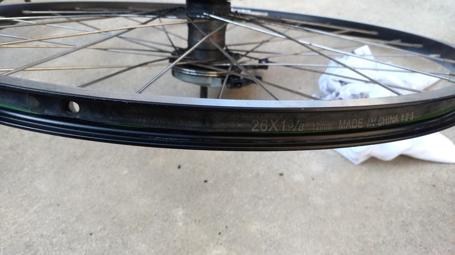 ブリヂストン hydee2 子供電動自転車 パンク タイヤ交換 -8-