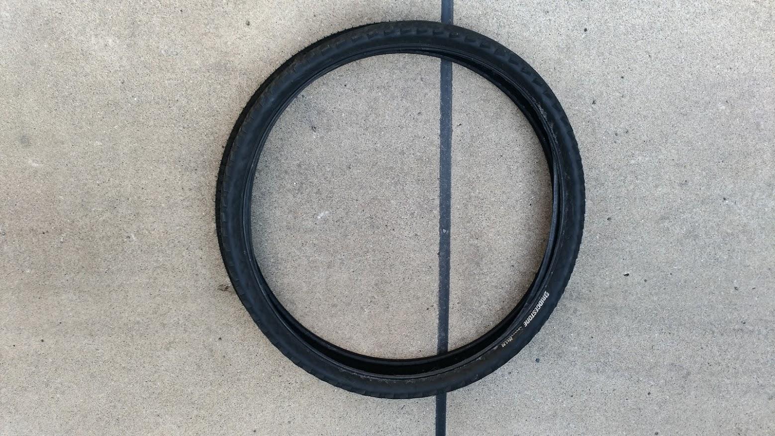 ブリヂストン hydee2 子供電動自転車 パンク タイヤ交換 -11-