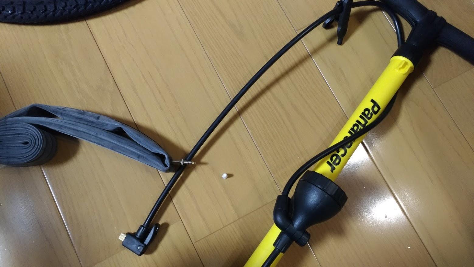 ブリヂストン hydee2 子供電動自転車 パンク タイヤ交換 -4-