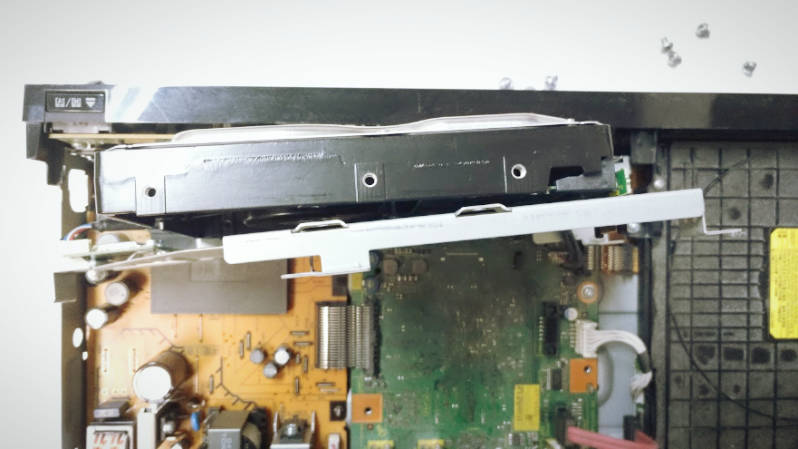 パナソニック ディーガ DMR-BZT820 ブルーレイディスクHDDの修復 -3-