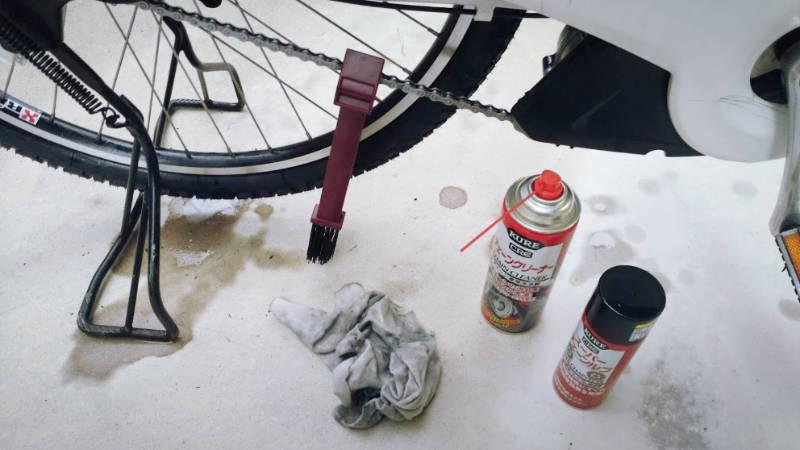 電動自転車 Hydee 2 メンテナンス・お掃除 -7-