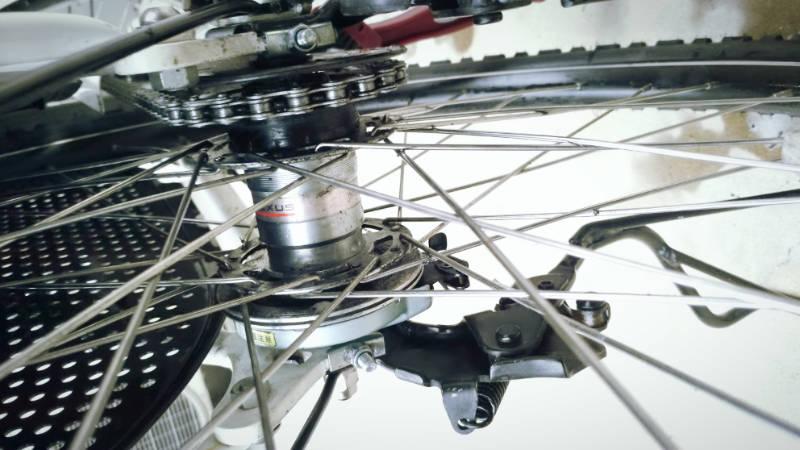 電動自転車 Hydee 2 メンテナンス・お掃除 -9-
