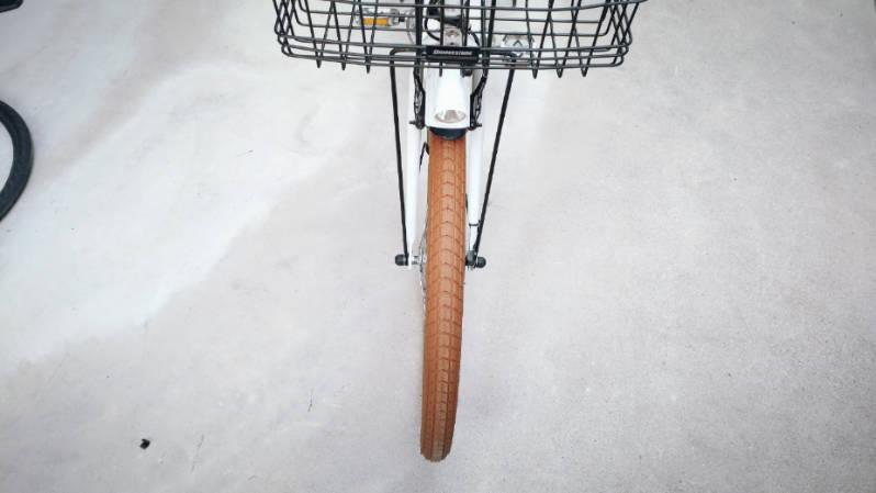 自転車 タイヤ シュワルベ ビッグベン 26×2.15 ブラウン 交換 -11-