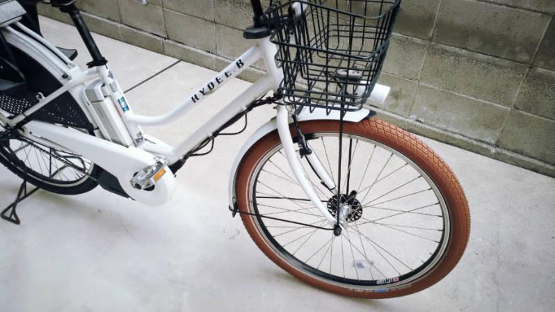 自転車 タイヤ シュワルベ ビッグベン 26×2.15 ブラウン 交換 -9-