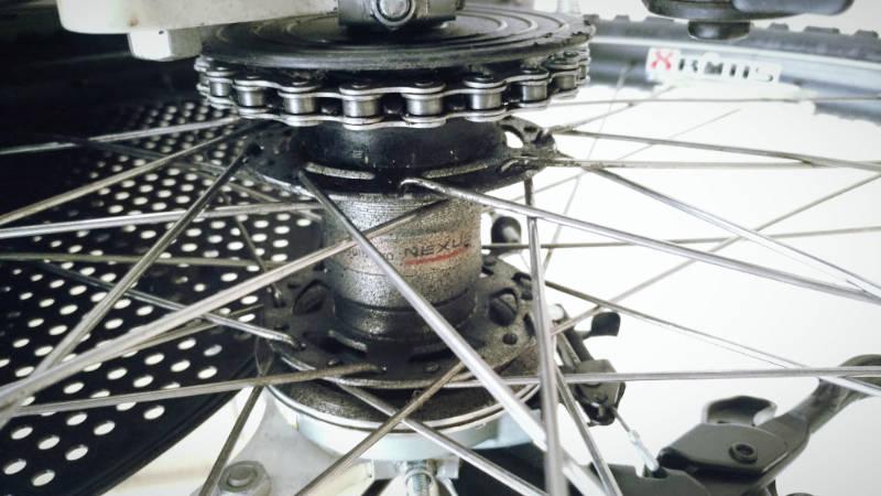 電動自転車 Hydee 2 メンテナンス・お掃除 -3-