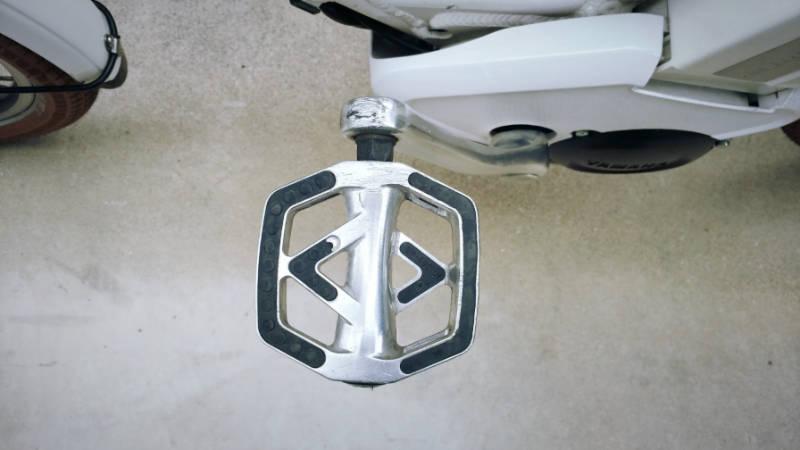 HYDEE 2 自転車ペダル交換 MKS 3000R -1-