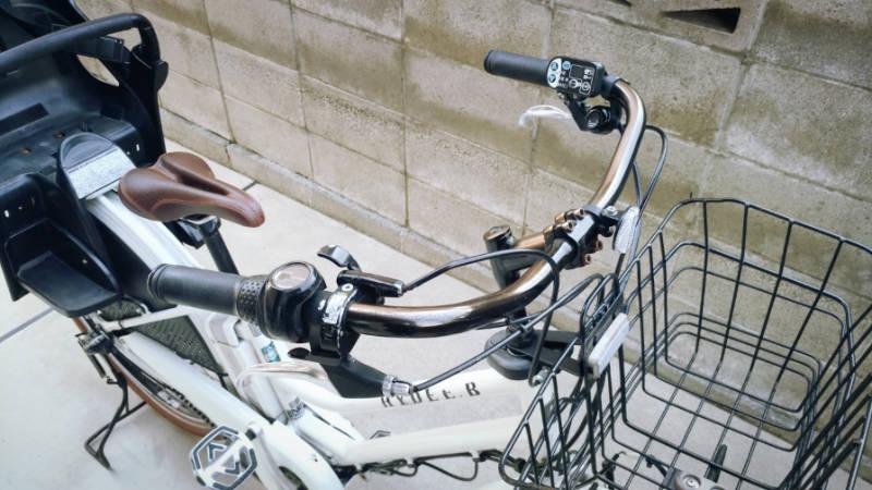電動自転車 HYDEE2 ハンドルグリップ -1-