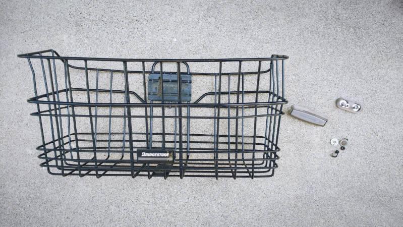 電動自転車 HYDEE2-ハイディーツー- 木製板 カゴ 交換 -2-