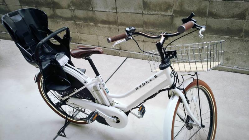 電動自転車 HYDEE2-ハイディーツー- 木製板 カゴ 交換 -7-