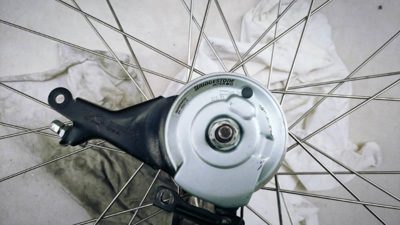 電動自転車HYDEE2のブレーキを修理・メンテナンス  -4-