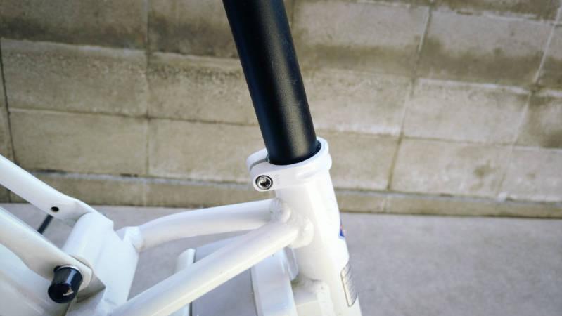 電動自転車 HYDEE2 シートクランプ-クイックタイプ- 交換 -5-