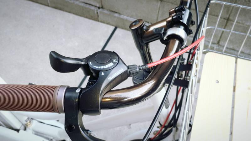 電動自転車 HYDEE2-ハイディーツー- 内装3段 シフト ケーブル 交換 -12-
