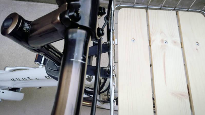 電動自転車 HYDEE2-ハイディーツー- 木製板 カゴ 交換 -10-