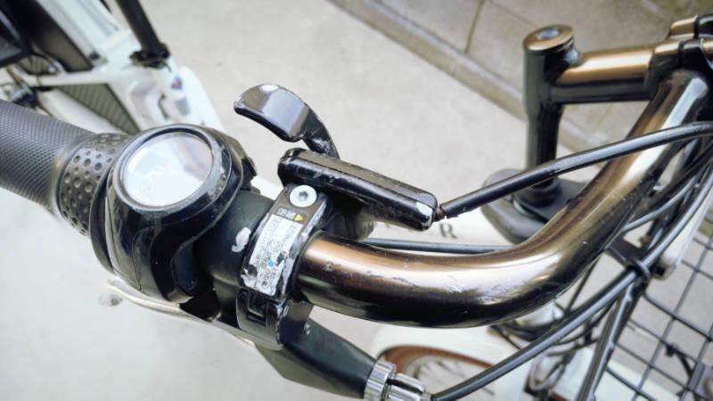 電動自転車 HYDEE2 ハンドルグリップ -2-