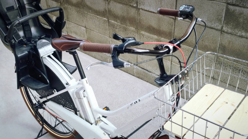 電動自転車 HYDEE2-ハイディーツー- 内装3段 シフト ケーブル 交換 -11-