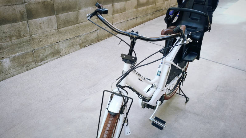 電動自転車 HYDEE2-ハイディーツー- 木製板 カゴ 交換 -3-