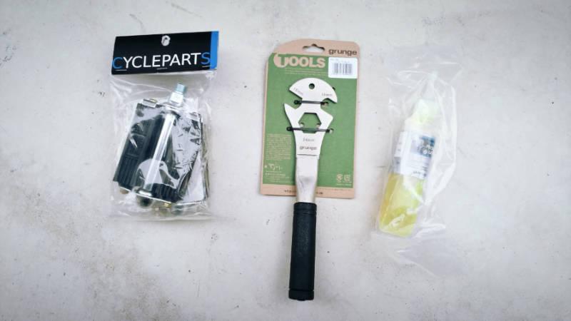 HYDEE 2 自転車ペダル交換 MKS 3000R -3-