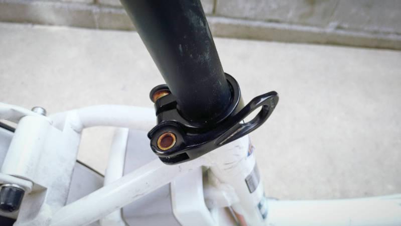 電動自転車 HYDEE2-ハイディーツー-のサドルを交換 -4-