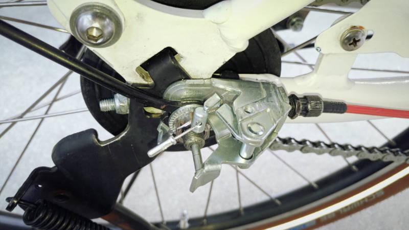 電動自転車 HYDEE2-ハイディーツー- 内装3段 シフト ケーブル 交換 -10-
