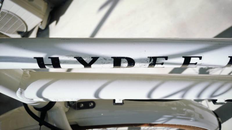電動自転車 HYDEE2 シール ステッカー きれいに剥がす -11-