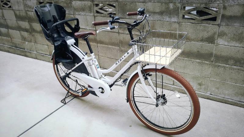 電動自転車 HYDEE2-ハイディーツー- 木製板 カゴ 交換 -11-