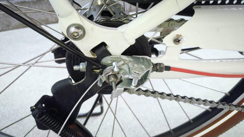 電動自転車 HYDEE2-ハイディーツー- 内装3段 シフト ケーブル 交換 -8-
