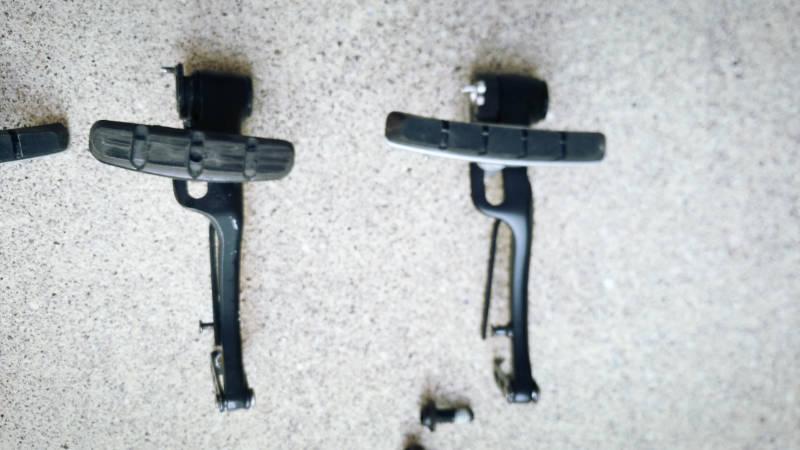 HYDEE2-ハイディーツー-カスタマイズ シマノ SHIMANO BR-T780-L F Vブレーキ 交換 比較 シュー