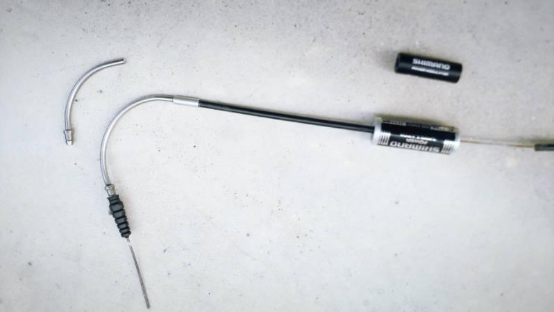HYDEE2-ハイディーツー-カスタム ブレーキ・レバー シマノBL-T780 交換  -8-
