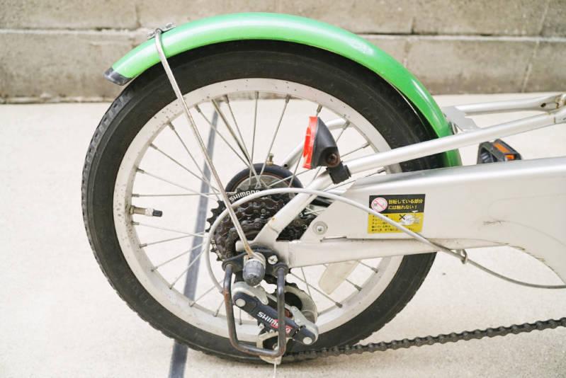 幼児用 子供自転車 自分で修理・メンテナンス 後輪タイヤ