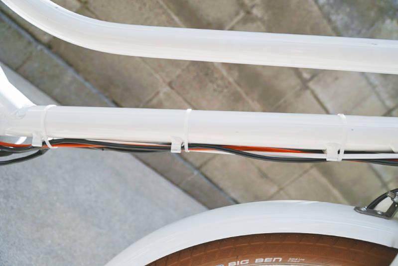 子供乗せ電動自転車 HYDEE2-ハイディーツー-カスタマイズ ケーブル配線・クリップ -3-