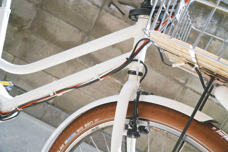 子供乗せ電動自転車 HYDEE2-ハイディーツー-カスタマイズ ケーブル配線・クリップ -2-