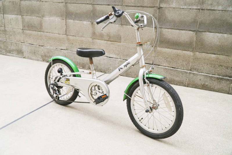 幼児用 子供自転車 自分で修理・メンテナンス 全体写真