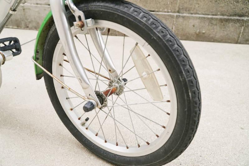 幼児用 子供自転車 自分で修理・メンテナンス 前輪タイヤ