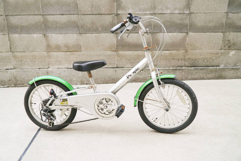 幼児用 子供自転車 自分で修理・メンテナンス 現状の状態