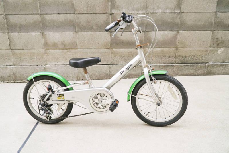 幼児用 子供自転車 自分で修理・メンテナンス 全体写真 横から